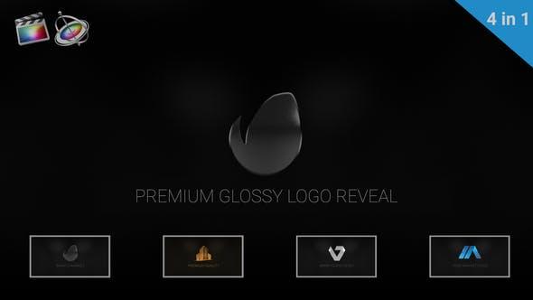 Premium Glossy Logo Reveal