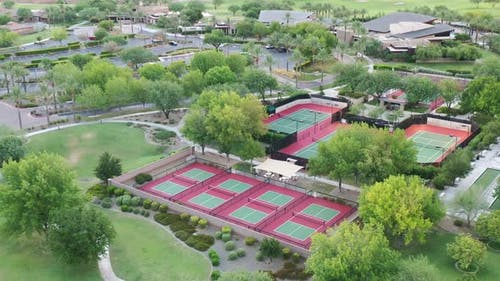 Tennis Court Flyover
