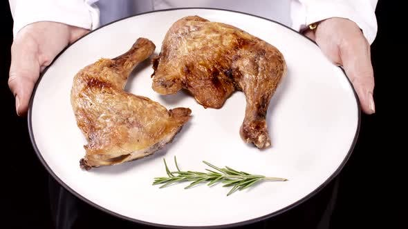 Thumbnail for Chef Presents Roast Chicken Plate