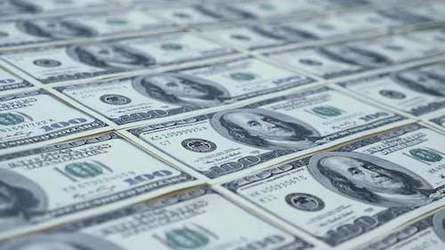 Dollars Hintergrund.
