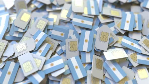 Thumbnail for SIM Cards with Flag of Argentina