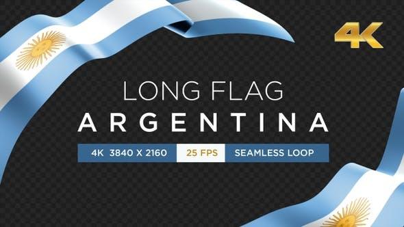 Thumbnail for Long Flag Argentina