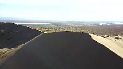 Huge Sand Dunes of Kazakhstan