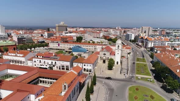 Thumbnail for Aerial View Cathedral of Aveiro in Portugal