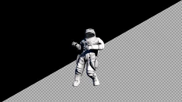 Thumbnail for 8K Astronaut Dancing