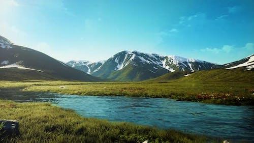 Mountain Range 4K