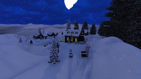 Thumbnail for Falling The Snow At Christmas Hd