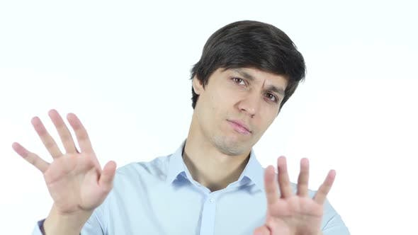 Thumbnail for Stop, Rejecting Gesture, No By Businessman