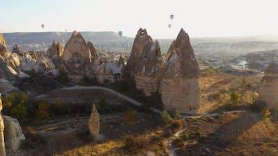 Amazing View of Cappadocia Turkey