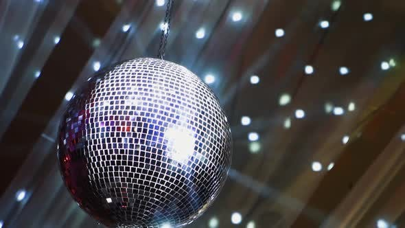 Thumbnail for Mirror Ball Spinning Slowly and Shimmering