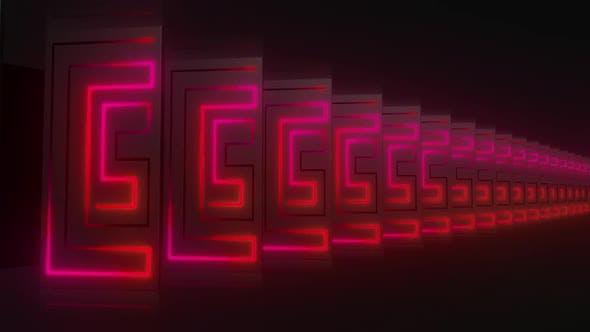 Thumbnail for 4k Neon Stroke Corridors