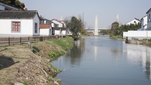 China's Beautiful Rural River V1