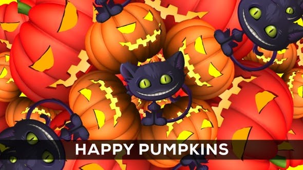 Thumbnail for Happy Pumpkins