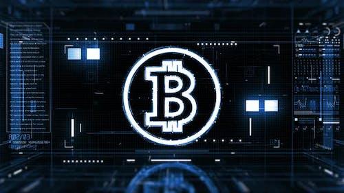 Bitcoin-Kryptowährung 01121