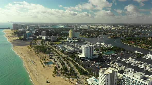Establishing shot Fort Lauderdale FL