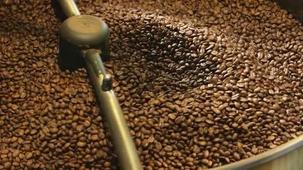 Coffee Roasting Machine Close Up