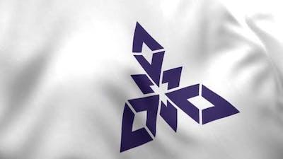 Fukuoka City Flag (Japan)
