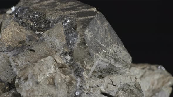 Mineral Pyrite Dodecahedron