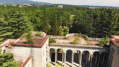 Medea Abandoned Sanatory In Tskaltubo 1