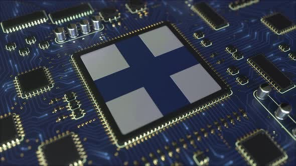 Thumbnail for Flag of Finland on the Operating Chipset
