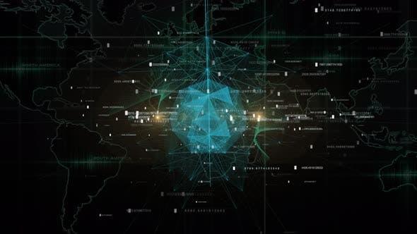 Thumbnail for Futuristisches globales Netzwerk