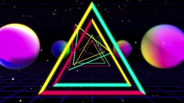 Triangle Neon 03 4k