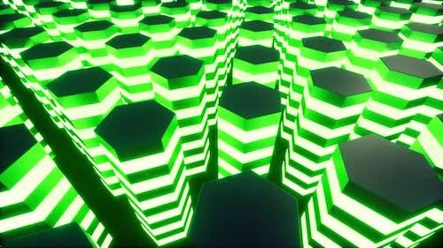 VR Servers Futuristic Information Technology Concept Digital Data Flow Cyber Security Quantum