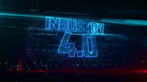 Industry 4.0 abstract loopable