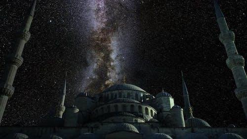 Milkyway Timelapse Sultan Ahmet Mosque