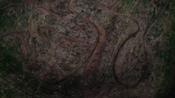 Motorcross Aerial View