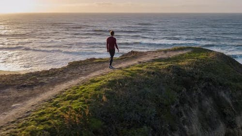 Walking On The Cliff
