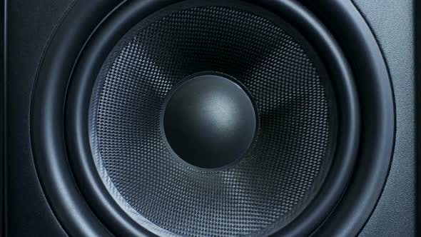 Cover Image for of Round Audio Speaker Pulsating