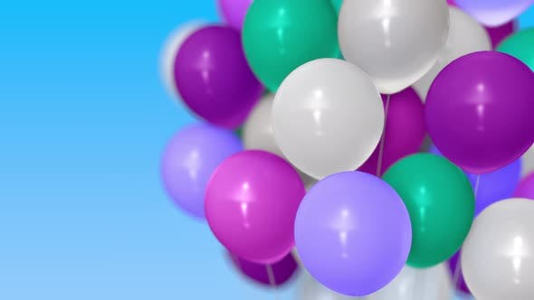 Thumbnail for Colorful Helium Balloons