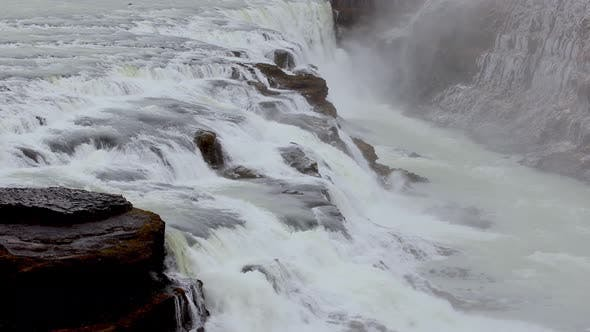 Thumbnail for The Famous Gullfoss Waterfall in Iceland