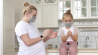 Hand sanitizer treatment