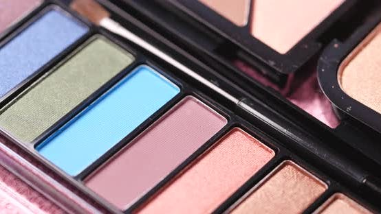 Thumbnail for Colorful eye shadow and cosmetic