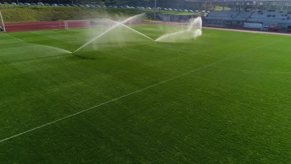 Thumbnail for Soccer or Football Field Irrigation System of Automatic Watering Grass