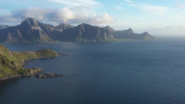Beatiful Norwegian coastline