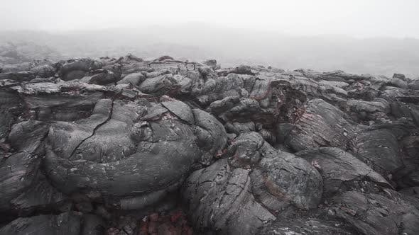 Thumbnail for Frozen Lava Flow Resulting From the Eruption Flat Tolbachik