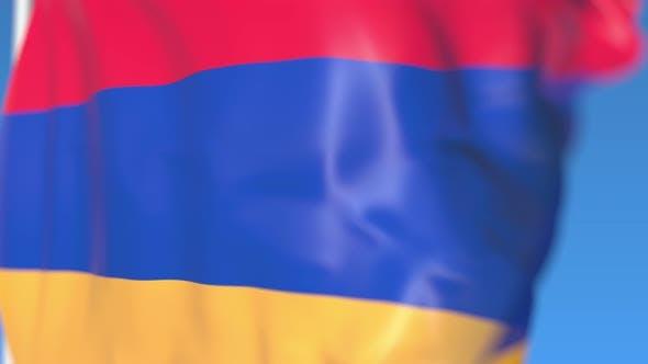 Thumbnail for Flying National Flag of Armenia