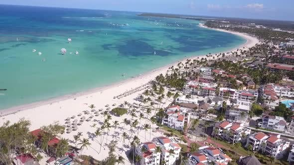 Cover Image for Punta Cana Beach And Palms drone shoot
