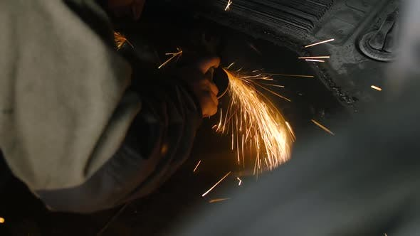 Thumbnail for Angle Grinder