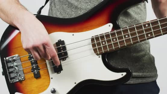Thumbnail for Hands playing the electric guitar