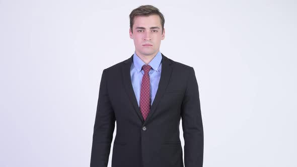 Thumbnail for Young Handsome Businessman Wearing Suit