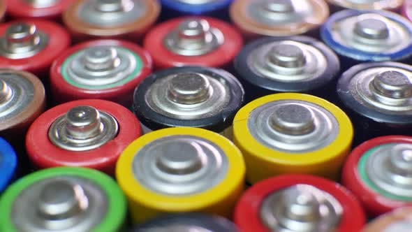 Thumbnail for Lot of Used AAA Batteries From Different Manufacturers