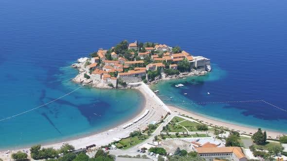 Thumbnail for Mediterranean Vacation Sveti Stefan Island, Near Budva Kotor, Montenegro