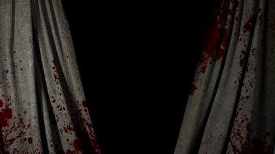 Horror Bloody Curtain