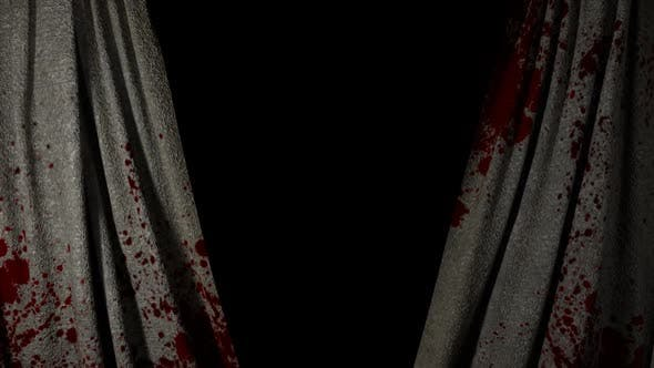 Horror Bloody Curtain