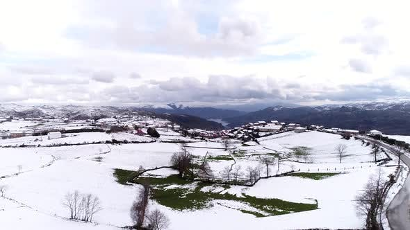 Thumbnail for Kälte Winter Schnee-Wetter Saison in der Stadt