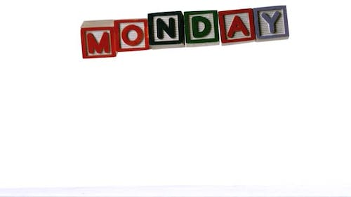 Blocks spelling monday dropping down
